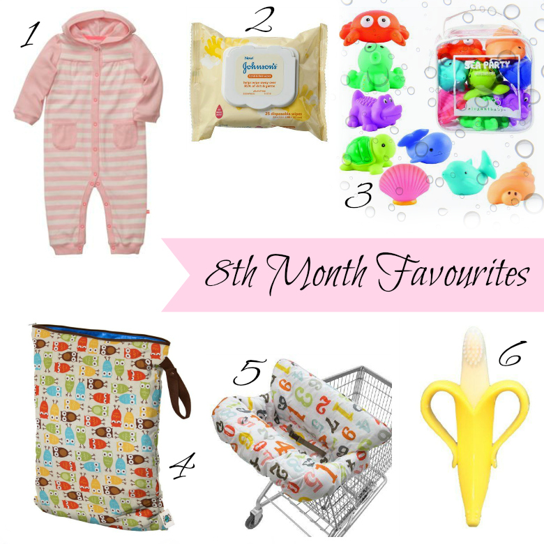 Favourite baby products at 8 months