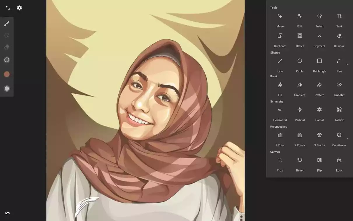 Infinite Design تصميم لانهائي جميع الأدوات المتميزة لمساعدتك في إنشاء أفضل صورة.