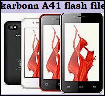 Karbonn-A41-Power-Flash-Software-Download-Free