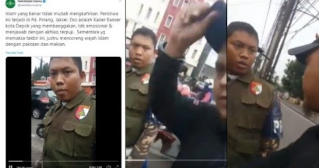 Persekusi Dua Anggota Banser, Pelaku Diburu Polisi
