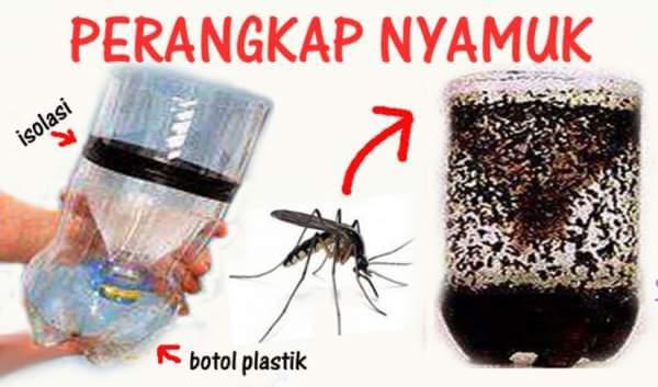 Cara Membuat Perangkap Alat Pengusir Nyamuk dari Barang Bekas