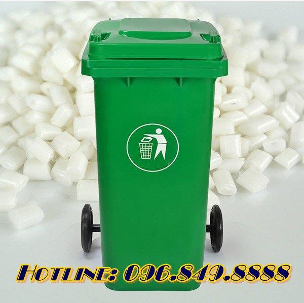 Giá thùng rác 240 lít 120 lít 60 lít nắp kín có bánh xe: khuyến mãi chỉ từ 230K