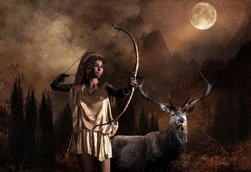 Ártemis: Deusa da Lua e da Caça