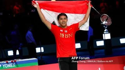 Jojo atlet badminton indonesia