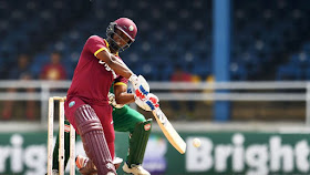 Evin Lewis 91 - West Indies vs Pakistan 3rd T20I 2017 Highlights