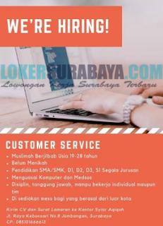 Loker Surabaya Terbaru di Syiar Aqiqah Juni 2019