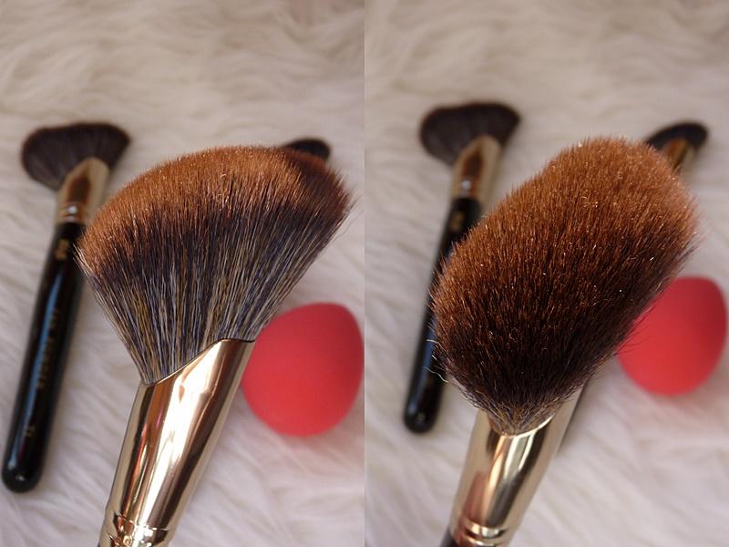 Killys Fan Blush&Bronzer T2 pędzel do różu i bronzera- wachlarz