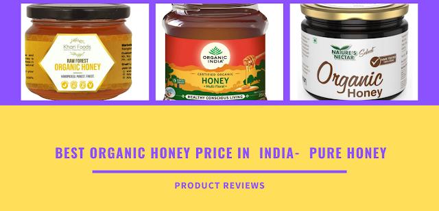 Best organic honey price in  India-  pure honey