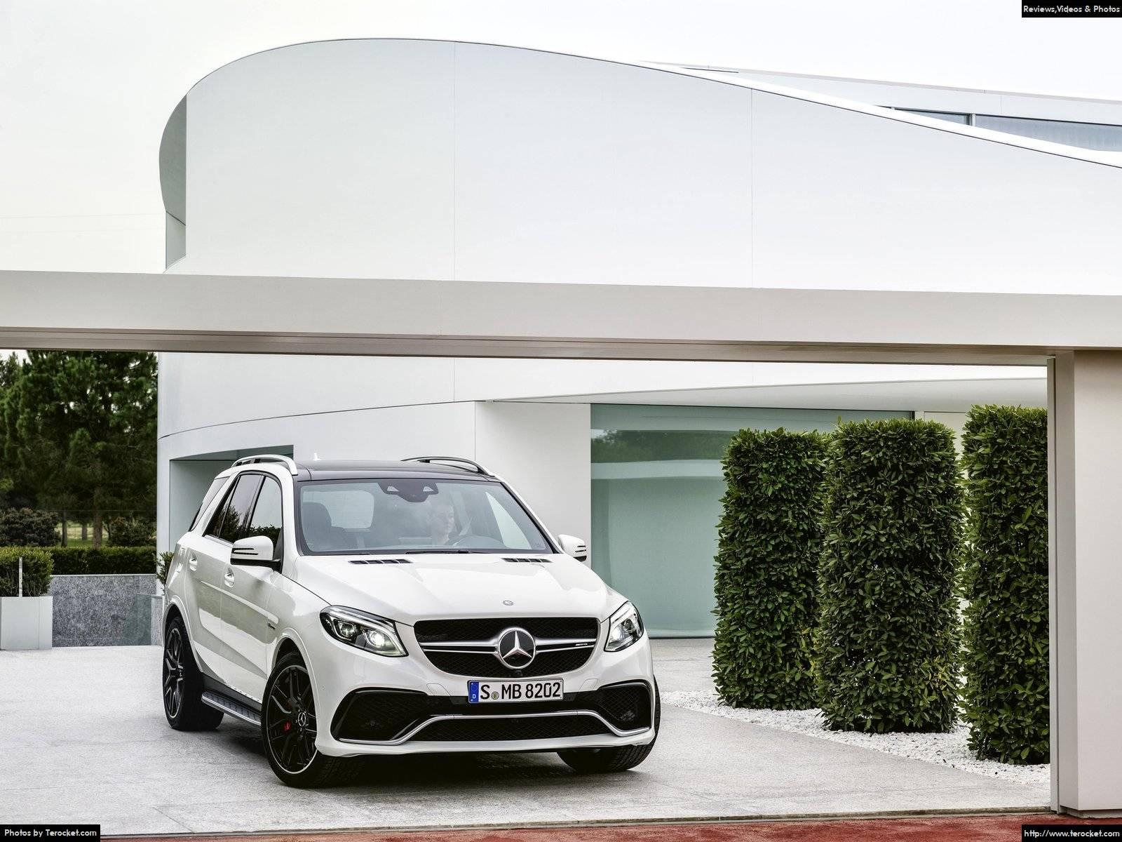 Hình ảnh xe ô tô Mercedes-Benz GLE 63 AMG 2016 & nội ngoại thất