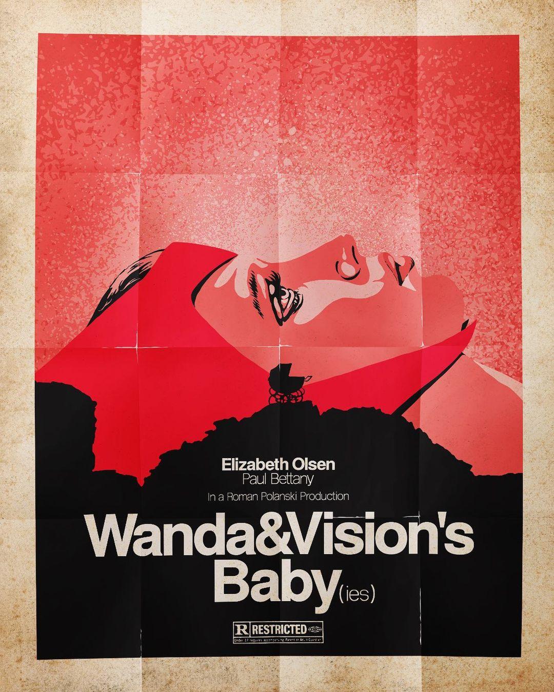 Artista Butcher Billy faz cartazes retrô de WandaVision repletos de referências a cultura pop