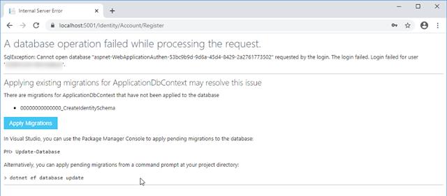 ASP.NET Core 3.0 - Création de tout un système d'authentification