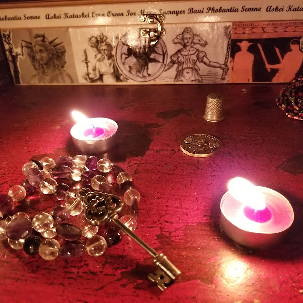 Tales of Hecate and Rite of Her Sacred Fires