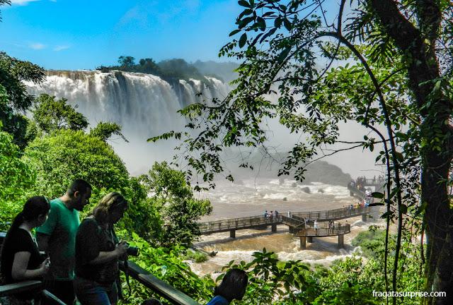 Trilha para as Cataratas do Iguaçu