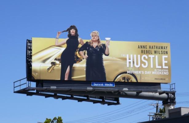 Hustle movie billboard