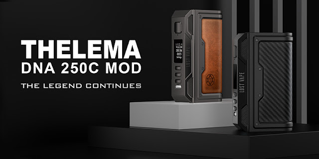 Lost Vape Thelema DNA250C Mod Limited Edition Overview
