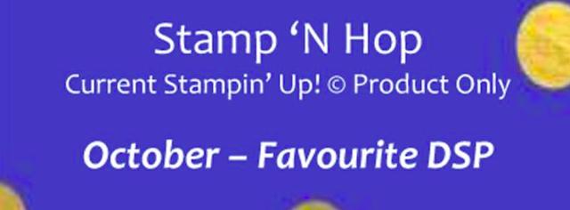 Stamp N' Hop October Blog Hop: Favourite DSP