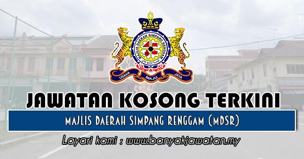 Jawatan Kosong 2020 di Majlis Daerah Simpang Renggam (MDSR)