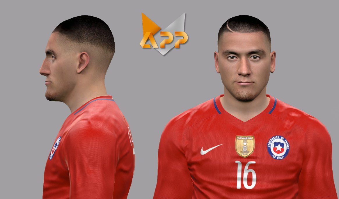 PES 2017 Nicolas Castillo Face by LF Facemaker