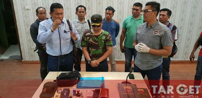 Janji Bisa Luluskan Akmil, Mayor Gadungan Diamankan TIM Danpok Bansus Kodim 0201/BS