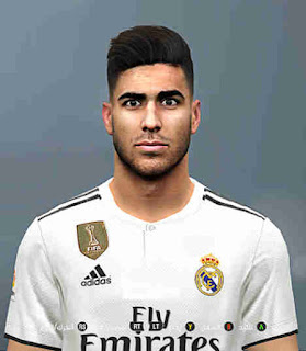 PES 2017 Faces Marco Asensio by Youssef Facemaker