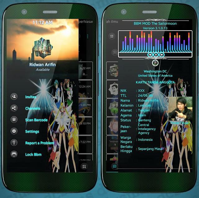 yang perlu teman - teman ketahui bahwa bbm mod kali ini dengan versi terbaru dan disain nya yang sangat unik dan menarik sehingga akan lebih indah apabila di gunakan pada android anda karena selain di dukung dengan tema dan disannya yang sangat unik, juga di lengkapi dengan fitur - fitur yang tidak kalah kerennya dari bbm mod sebelumnya