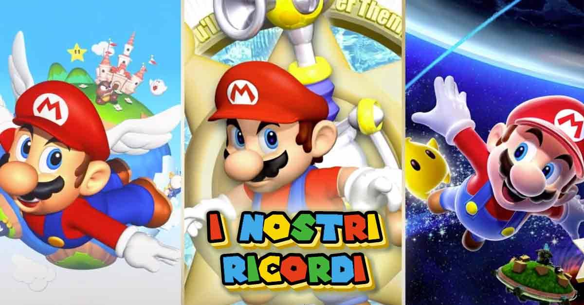 """I nostri ricordi sui tre titoli di ''Super Mario 3D All-Stars"""" per Nintendo Switch"""
