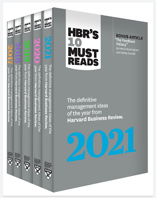 Years of Must Reads from HBR: 2021 Edition (5 Books)