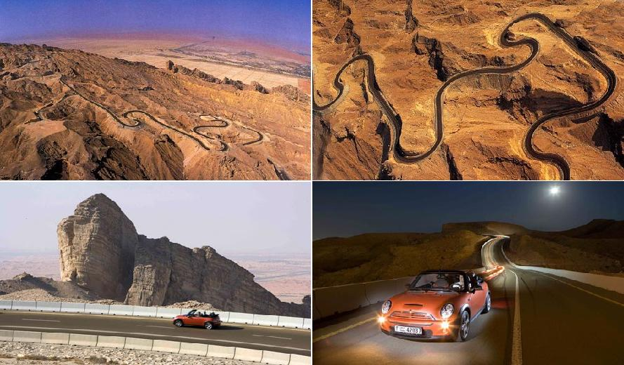The Jebel Hafeet Mountain Road – EAU