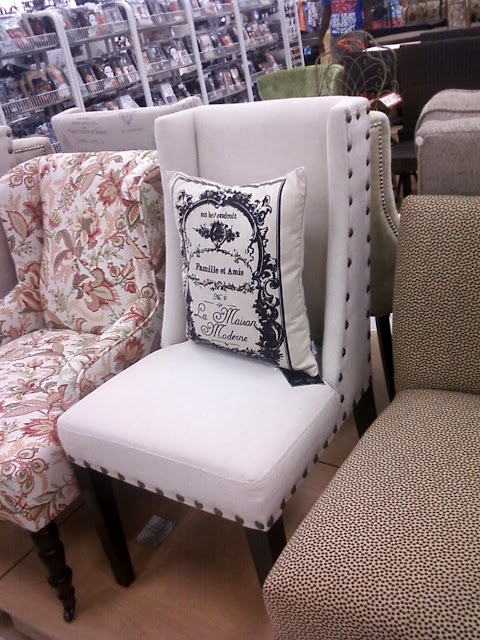 Dining Chairs At Marshalls Bedroom Chair In Grey Marshall's Finds - The Thrifty Abode