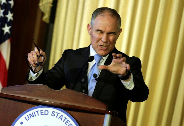 Pruitt: No need to cut emissions