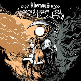"Το τραγούδι των Khemmis ""A Conversation With Death"" από το ep ""Doomed Heavy Metal"""