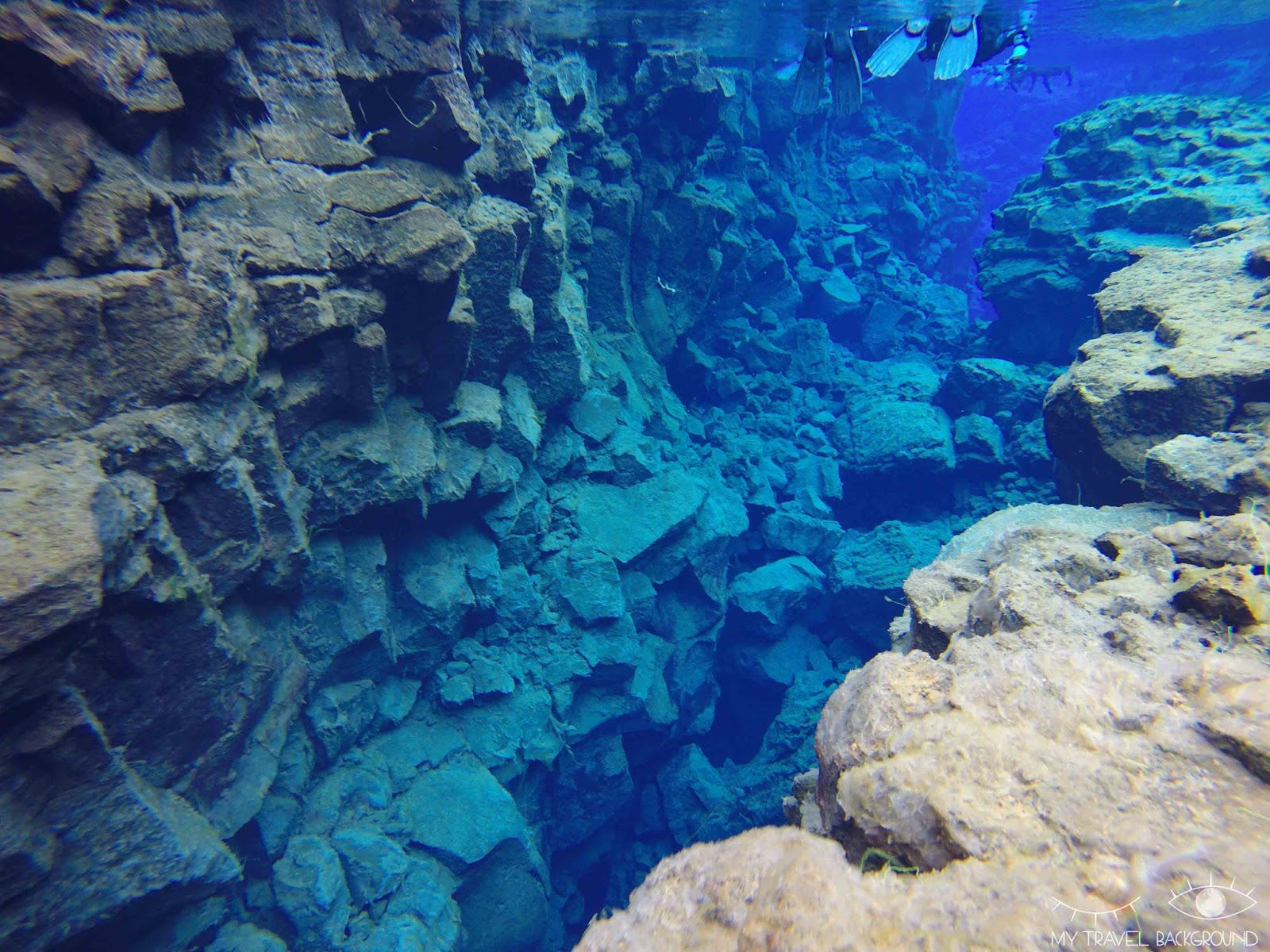 My Travel Background : plongée / Snorkelling dans la faille de Silfra en Islande