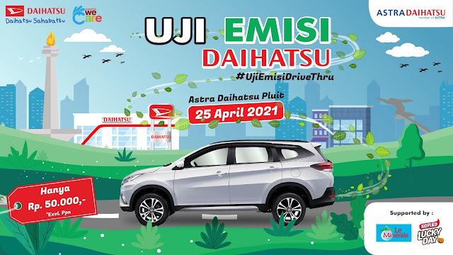 Mau Uji Emisi ? Drive-Thru Aja di Daihatsu