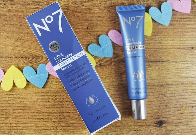 No.7 Lift & Luminate Triple Action Serum