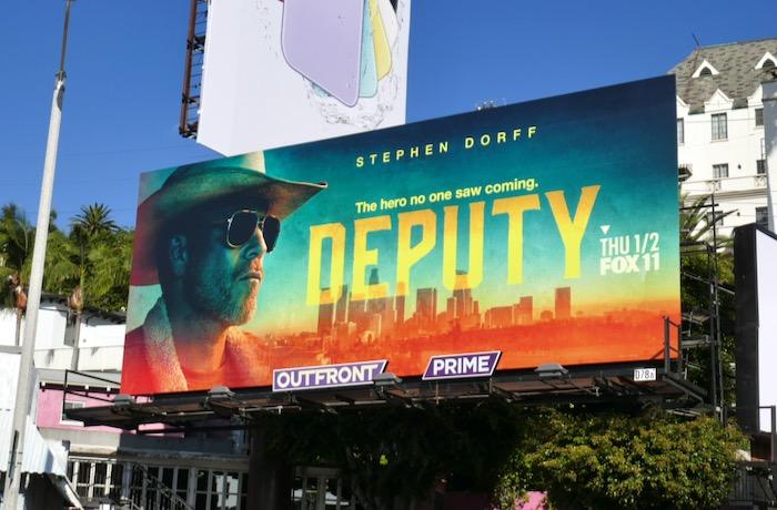 Deputy TV series billboard
