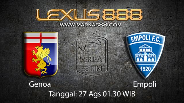 Prediksi Bola Jitu Genoa vs Empoli ( Italian Serie A )
