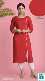 Nia Pretty Rayon Women's Kurtis