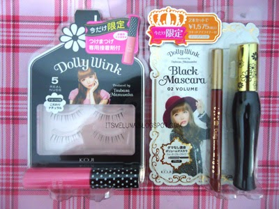7982309b872 That's all my damage haha Dollywink spree!! I bought Dollywink eyelashes  #05 Real Nude and a limited edition package of Liquid eyeliner and Black  mascara ...