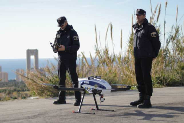 surveillance drones ,surveillance drones,spanish traffic police surveillance drones.