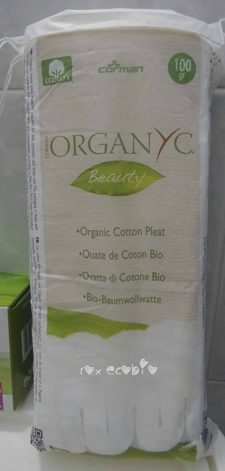 Organyc ovatta puro cotone biologico