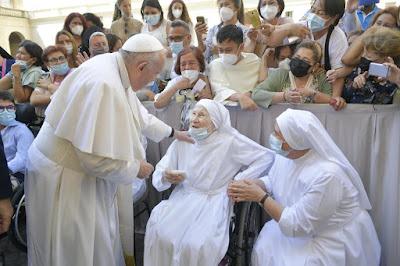 El Papa Francisco y el Evangelio de Hoy, Mateo 11,28-30
