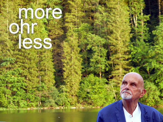 Hans-Joachim Roedelius @ More Ohr Less 2019 / photo S. Mazars