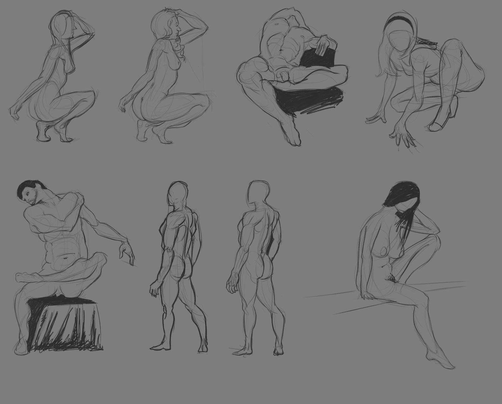 XaB au travail ! [nudity inside] - Page 5 Studies_2016-02-26_Postures