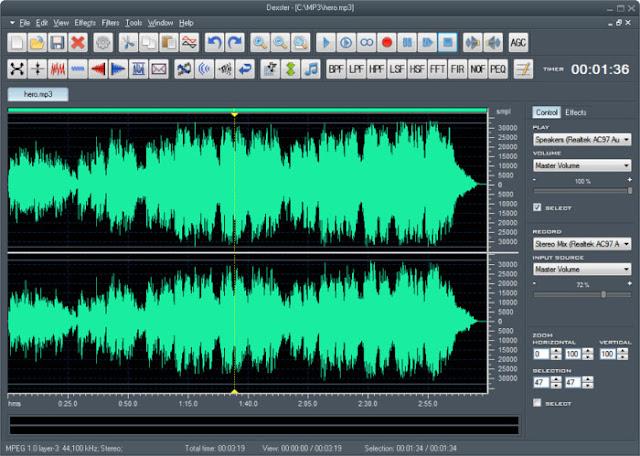 إضافة المؤثرات والمحسنات الصوتية