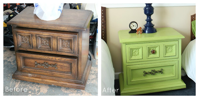 Night Stand before and after