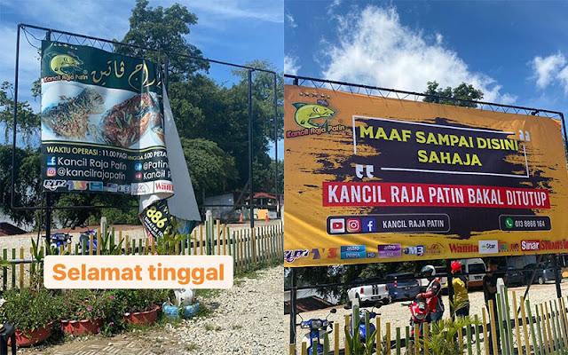 Lokasi Kedai Kancil Raja Patin, Temerloh Bertukar Tempat Baru Di Bukit Desa Semantan