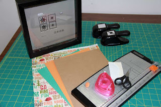 Simple supplies needed to create a fantastic scrapbooking projects