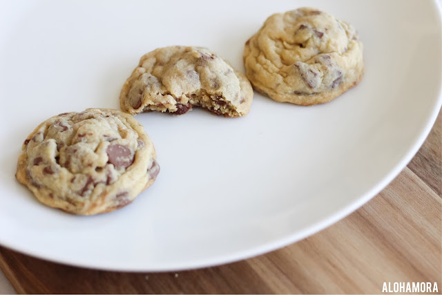 Soft Batch Chocolate Chip Cookies. The softest cookies around.  These homemade from scratch cookies are easy to make, and they have the perfect soft texture.  The best chocolate chip cookies. Pudding,  No cream cheese used. Classic cookies Alohamora Open a Book http://alohamoraopenabook.blogspot.com/
