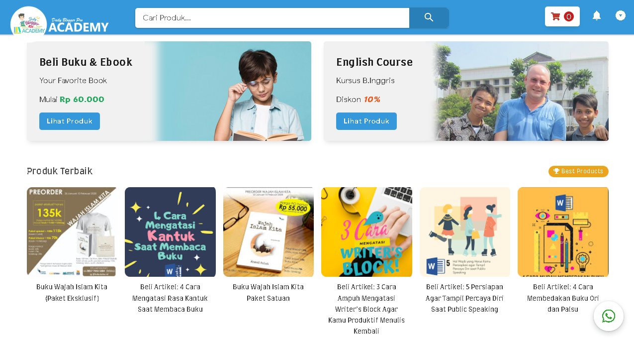 Best Product, English Course, & Ebook DBP Academy