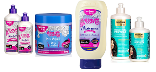 Sugestão de cremes Salon Line para cabelos ondulados